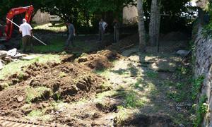 Etablissement Public le Roc Castel - Le Caylar - Espace vert