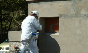Etablissement Public le Roc Castel - Le Caylar - Peinture bâtiment
